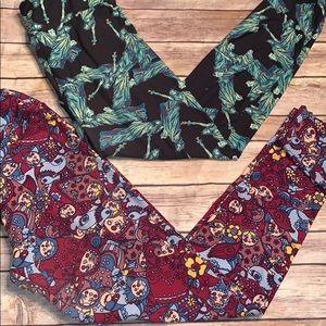 Lularoe leggings one size fits 0–12 rare pattern